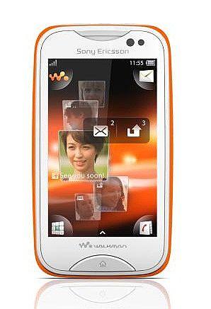 Details about Sony Ericsson mix Walkman WT13i White/Orange Band ...