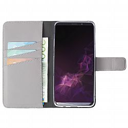 Krusell Loka FolioWallet 2in1 for Samsung Galaxy S9 in Grey