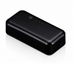 Just Mobile Gum 2200mAh Li-Ion Backup Battery for iPhone / iPad - Black